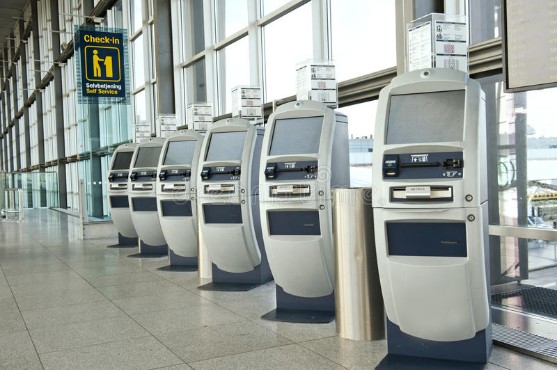 Airport check-in point