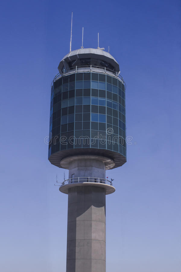 Airport Control Tower Stock Images