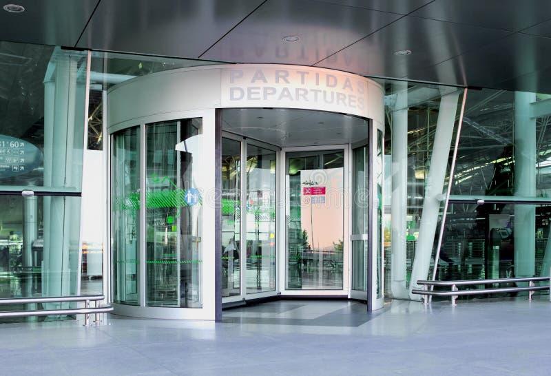 Airport Entrance stock photos