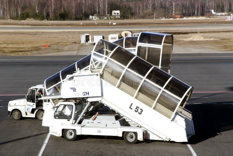 Airport equipment stock photography