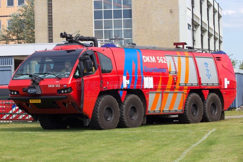 Airport firetruck stock photos