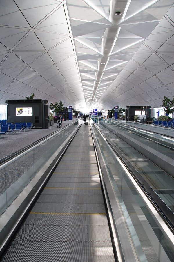 Airport Hall (Hong Kong) stock photography