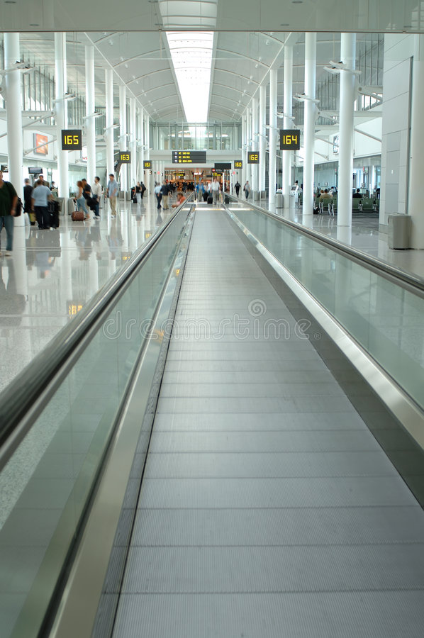 Download Airport interior stock image. Image of perspective, airport - 2973181