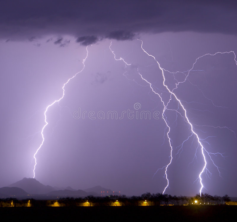 Download Airport Lightning stock image. Image of cloud, strike, southwest - 334155