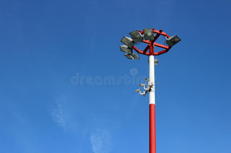 Airport Lights Royalty Free Stock Photos