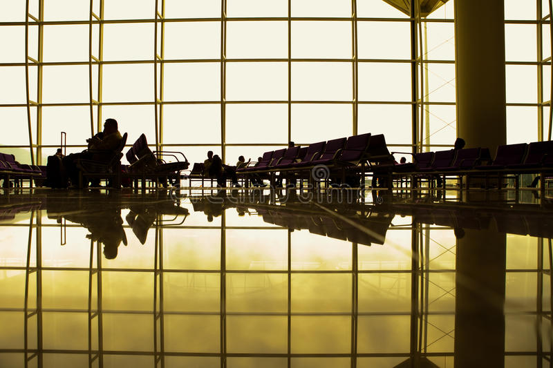 Airport Lounge stock photos