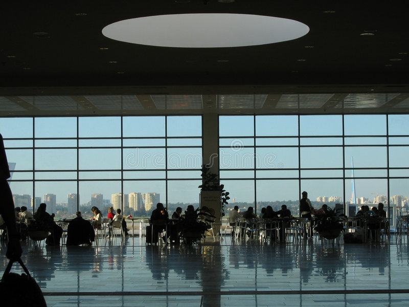 Download Airport Lounge stock image. Image of airport, architectural - 252969