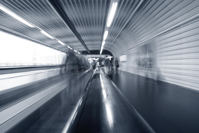 Download Airport moving escalator stock photo. Image of terminal - 24368948
