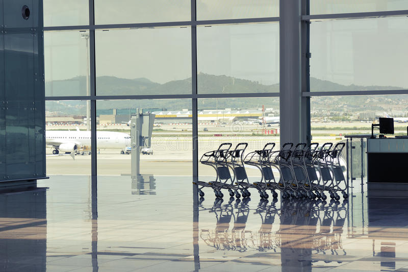 Airport Nobody Royalty Free Stock Image