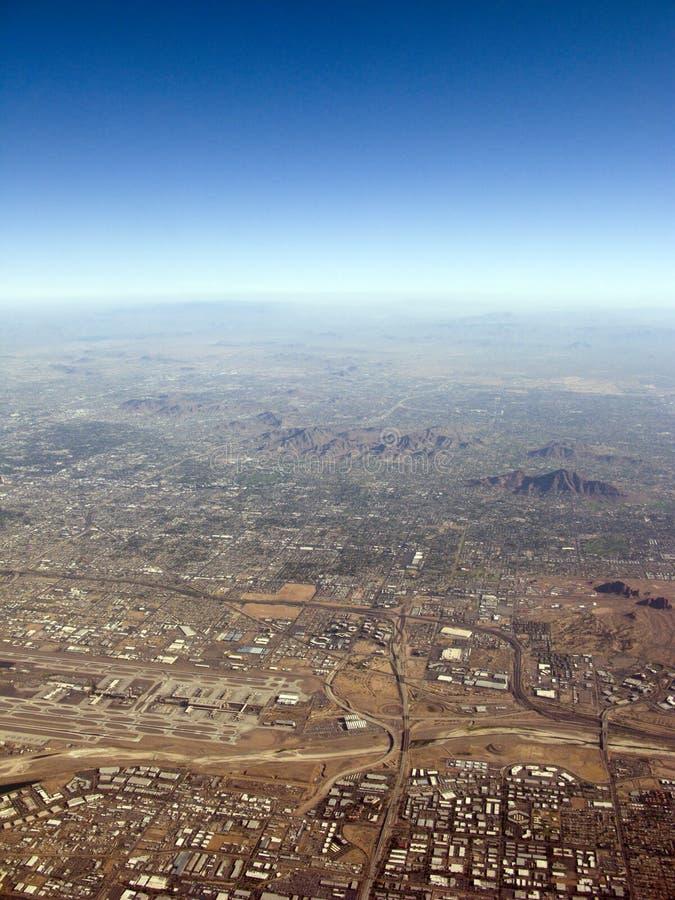 Airport of Phoenix, AZ royalty free stock image