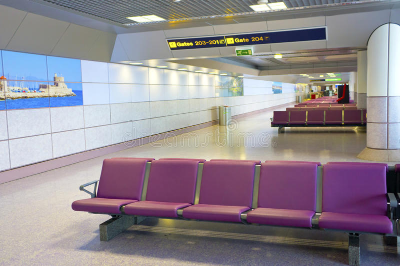 Download Airport's Departure Lounge. Editorial Photography - Image: 34425272