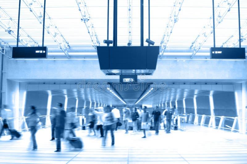 Airport Scene 2. Scenes in Airport 2 (Duo-tone