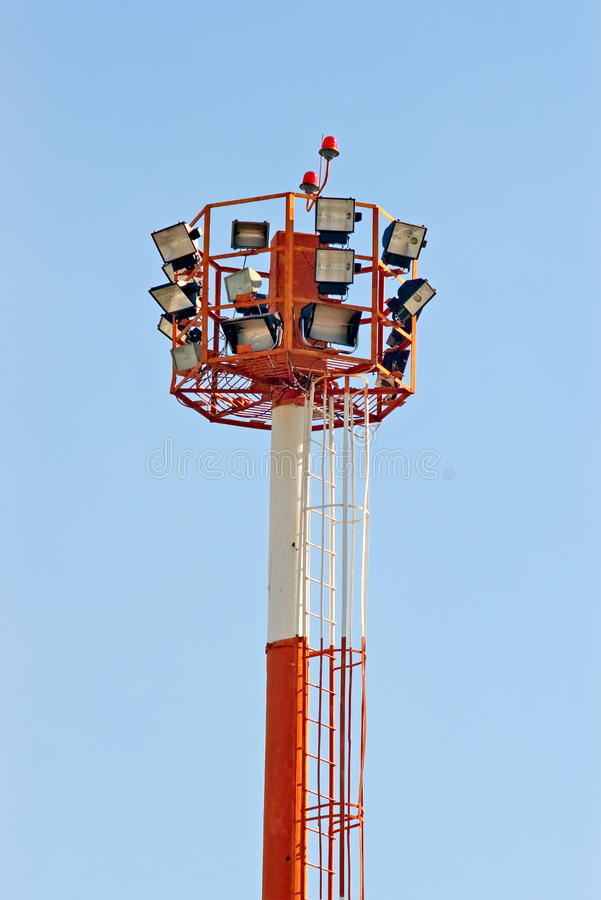 Download Airport searchlight tower stock photo. Image of search - 11072744