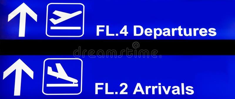 Airport Sign Stock Photos