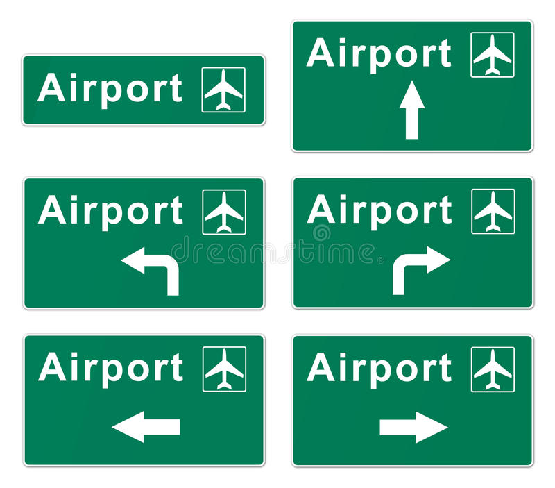 Airport Sign vector illustration