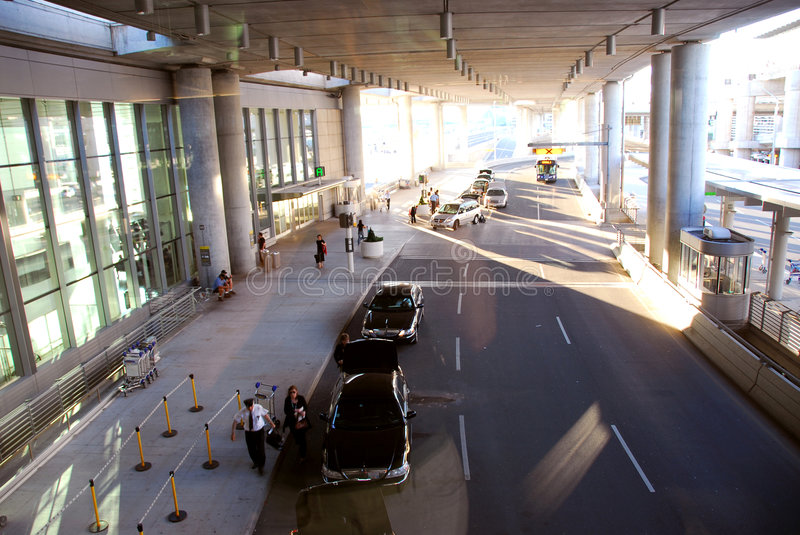 Download Airport terminal stock photo. Image of baggage, flying - 1269606