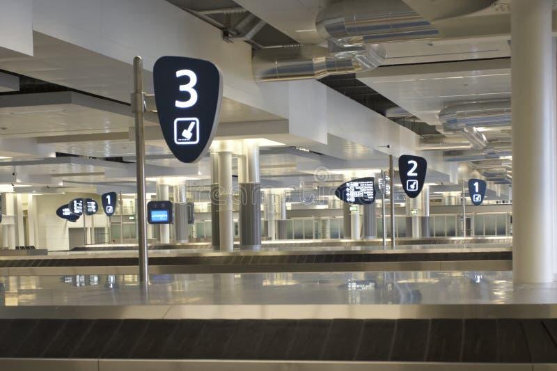 Airport terminal. Interior of airport big hall, Porto, Portugal royalty free stock photos