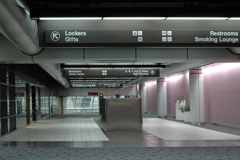 Airport terminal royalty free stock image