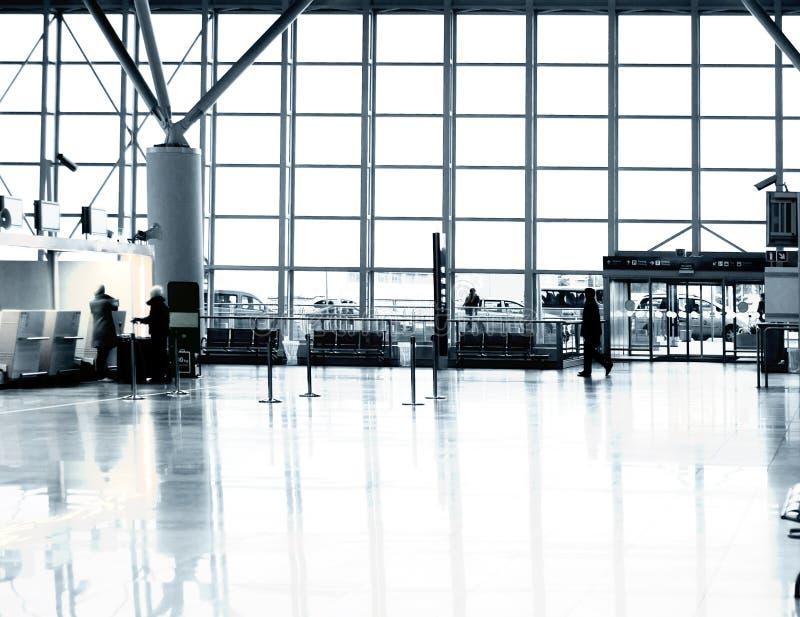 Airport terminal Warsaw royalty free stock images