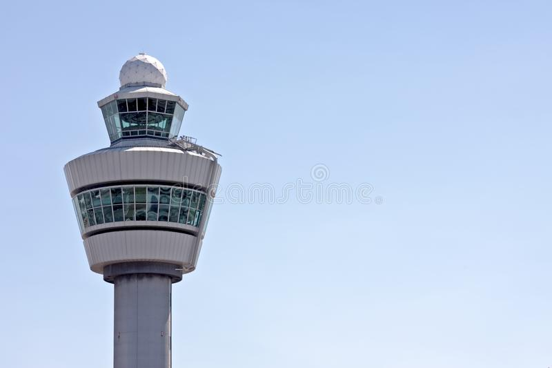 Download Airport Tower In The Netherlands Stock Image - Image of control, outdoor: 14500791