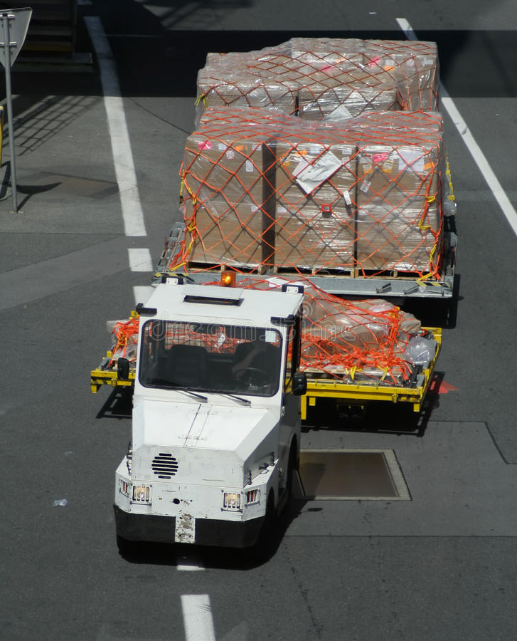 Download Airport vehicle stock image. Image of freight, carrier - 11660709