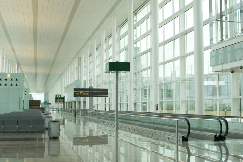 Download Airport waiting stock image. Image of business, empty - 10194473