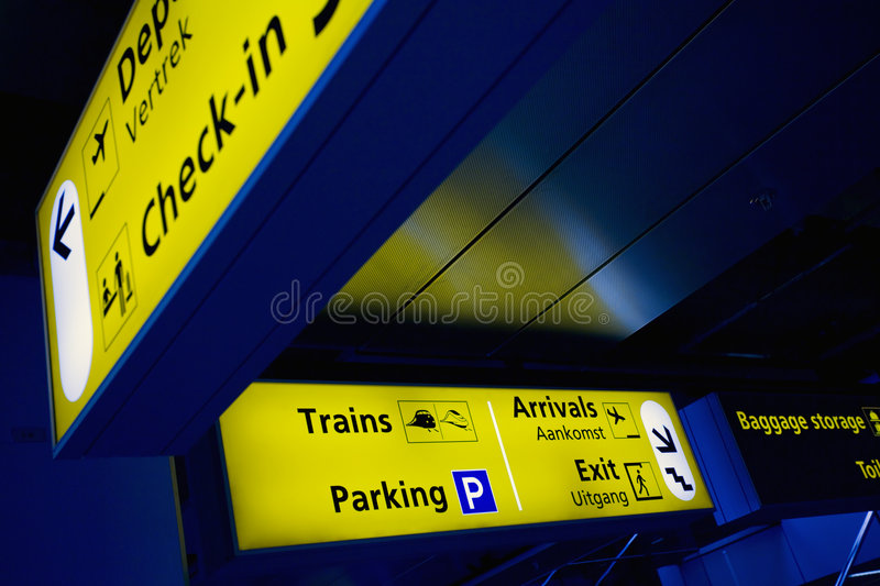 airport01 obrazy royalty free