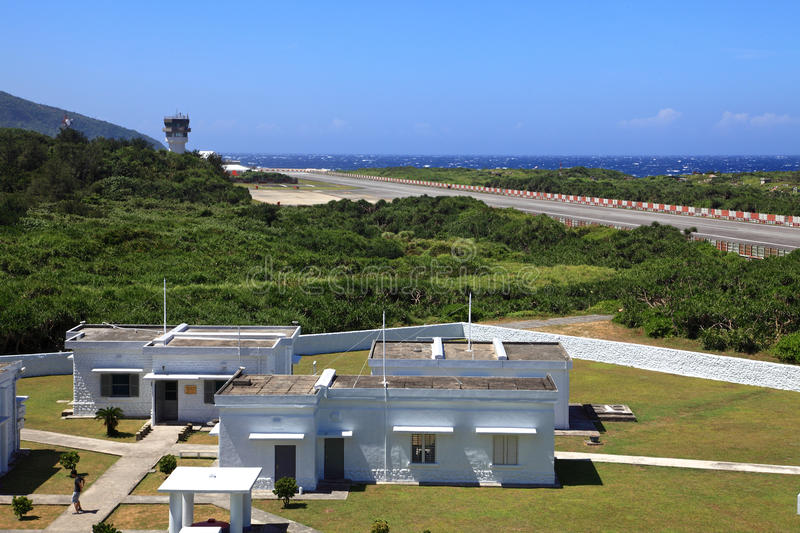 Airports on the Green Island,Taiwan royalty free stock photography