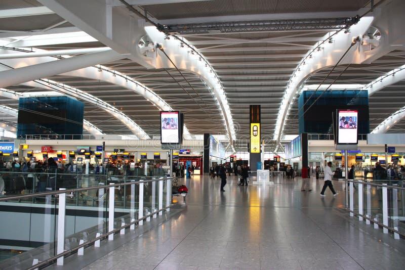Airpot del Heathrow fotografia stock