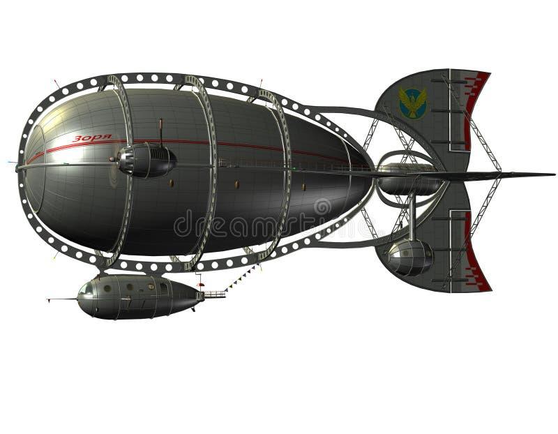Airship Зеппелина бесплатная иллюстрация