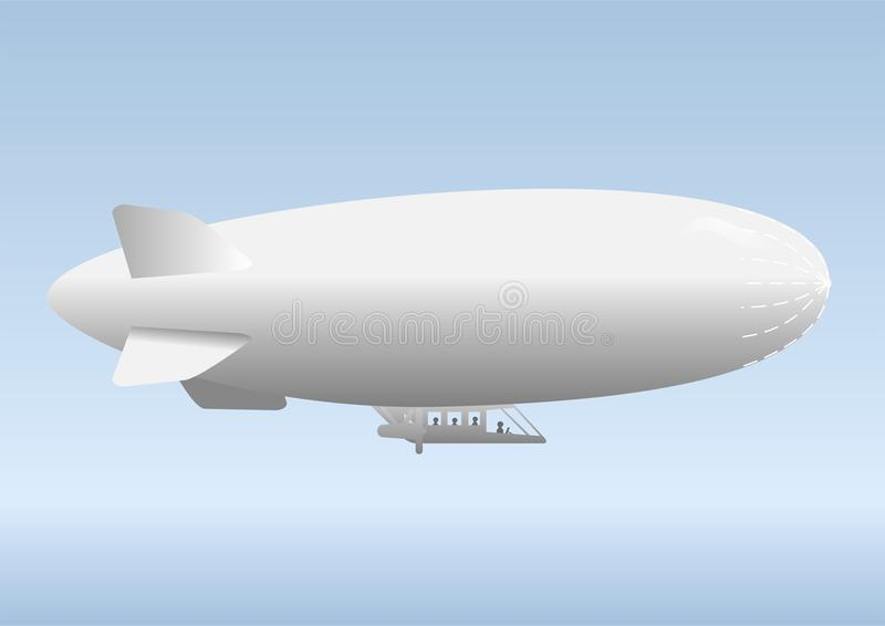 airship иллюстрация штока