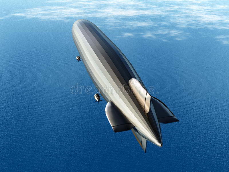 Download Airship stock illustration. Illustration of illustration - 43665816