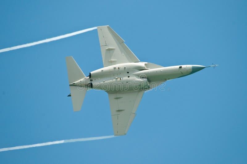 airshow喷气式歼击机 库存照片