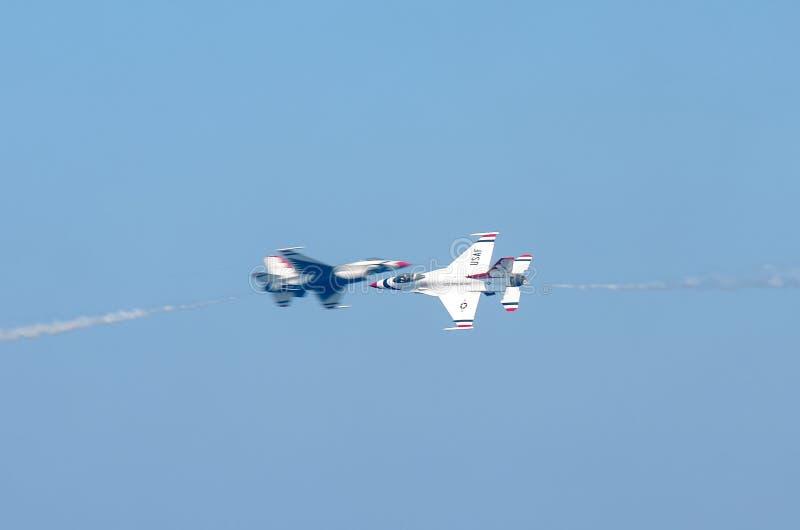 Airshow短传 库存图片
