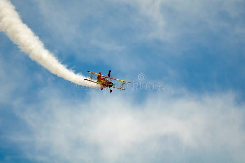 airshow το κύριο αεροπλάνο Καλιφόρνιας εμφανίζει στοκ φωτογραφίες
