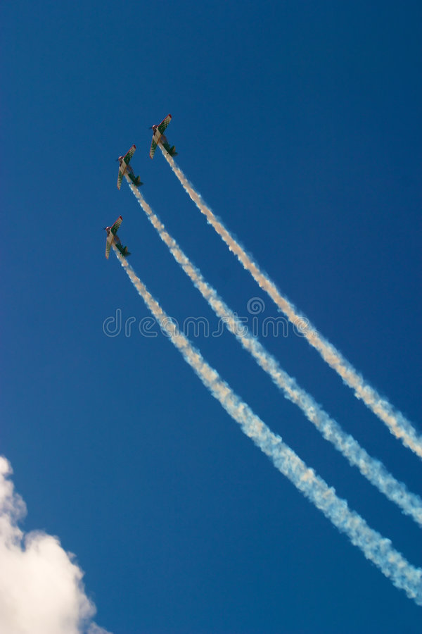 Airshow 10 stock images