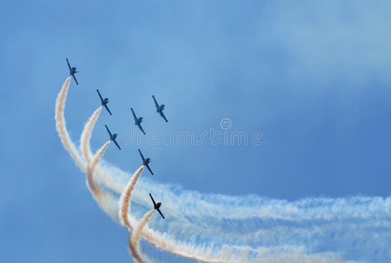 Airshow immagine stock libera da diritti