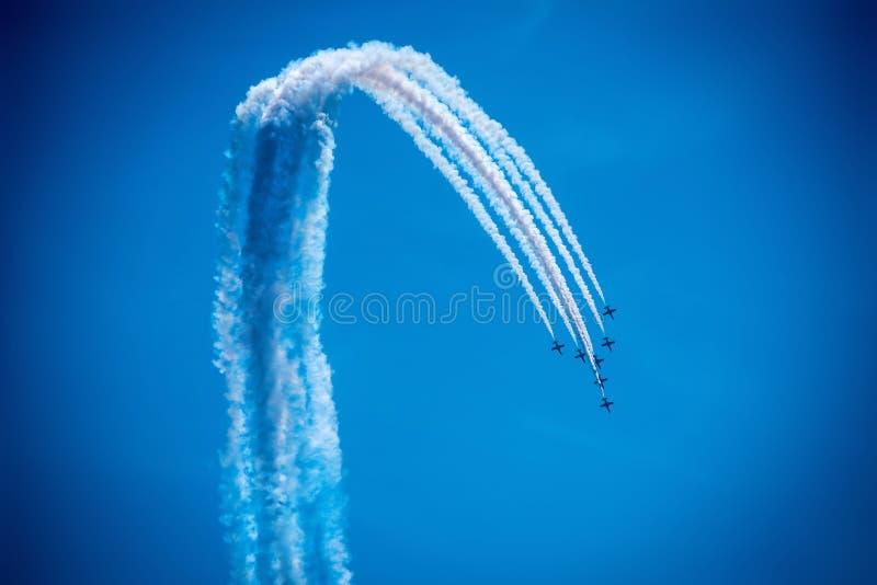 airshow стоковое изображение
