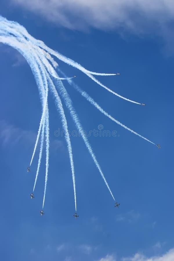 Airshow royalty free stock photos