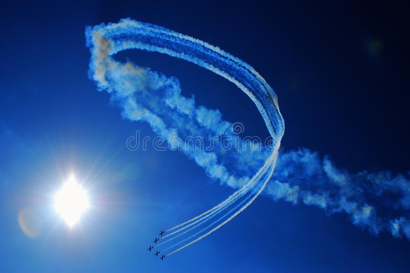 Airshow photographie stock