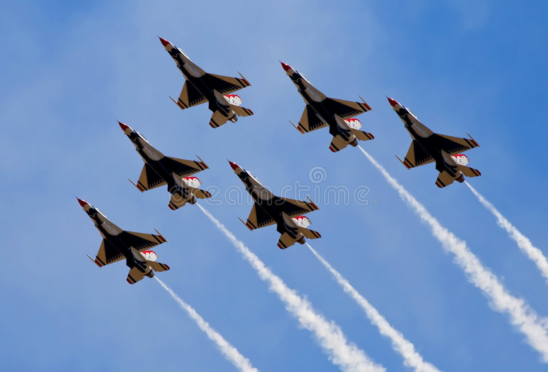 Airshow royalty free stock images