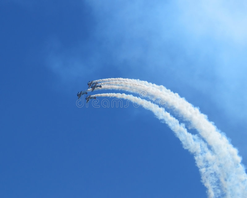 Airshow 6 fotos de stock royalty free