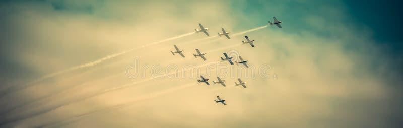 Airshow imagen de archivo libre de regalías