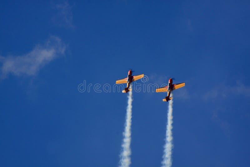 Airshow stock afbeeldingen
