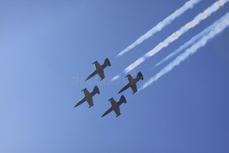 Airshow royalty-vrije stock afbeeldingen