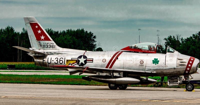Airshow airplane royalty free stock photo