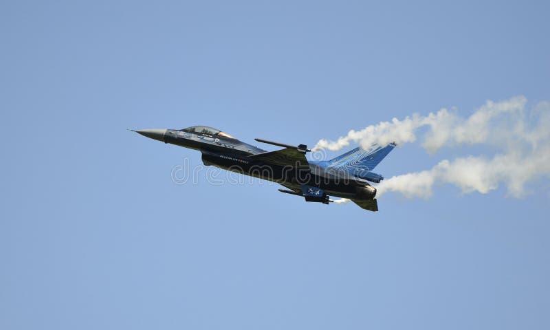 Airshow, Airpower11, vliegtuigen stock afbeelding