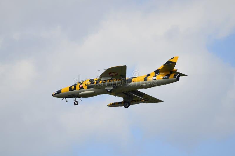 Airshow, Airpower11, vliegtuigen royalty-vrije stock foto