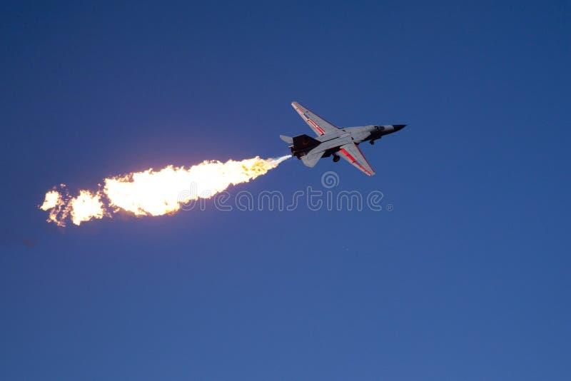 Airshow australiano F-111 foto de archivo