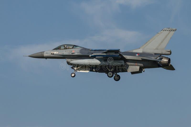 Airshow avec des jets et des hélicoptères photos stock